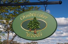 Chinwhisker Woods Cottage Sign | Danthonia Designs