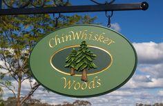 Chinwhisker Woods Cottage Sign | Danthonia Designs