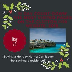 Day 25 of our 31 Day Countdown. Holiday Homes! #holidayhome #home #holiday