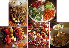 ideas what to serve finger foods in - Google Search