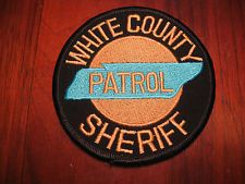 WHITE COUNTY TENNESSEE SHERIFF PATCH