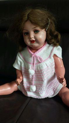 Puppe Schildkroet antik 63/64 mit Echthaar | eBay