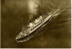 CAP ARCONA was employed on the Hamburg - Lisbon - Rio de Janeiro - Buenos Aires service from November 1927 (she left Hamburg on maiden voyage on 19 November 1927) up to August 1939 when she was withdrawn from service due to the outbreak of the Second World War. Her end was tragic in the frozen waters of Lubeck bay on 3 May 1945 when CAP ARCONA was bombed and sunk by the RAF - Royal Air Force with thousands of refugees onboard, of whom 5,000 lost their lives.