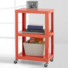 whole series of these shelving units - simple / attractive | Studio 3B 3-Tier Metal Shelving - BedBathandBeyond.com