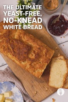 A yeast-free bread? Sign us up! 😱