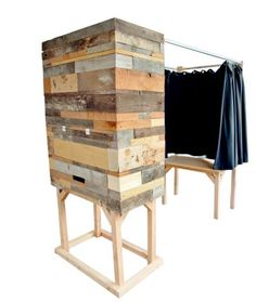Unique Photo Booth - Great Idea for Weddings, parties, showers. See what unique photos your guests leave you with.