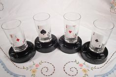 Check out this item in my Etsy shop https://www.etsy.com/listing/216822848/swanky-bar-swigs-aces-up-glasses-with