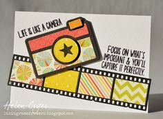 Also today is another new release from The Stamps of Life - this Filmstrip die.It cuts well, and...