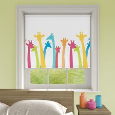 Pretty Prints Blackout, Tall Story - Roller Blind