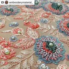 "1,832 Likes, 4 Comments - Babi Bernardes (@bordados_e_bordadeiras) on Instagram: ""@embroiderymaterial_ #handembroidery #needlework #embroidery #ricamo #broderie #bordado"""