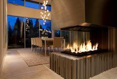 Closed Montigo Fireplace