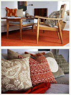 The pillows ...    An Indian Summer: Chhatwal & Jonsson
