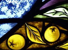 Stained glass detail, Annette Reed