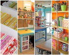Craft Room Organizing Ideas   ... : Inspirational Wednesday (Small craft room/organiztion ideas