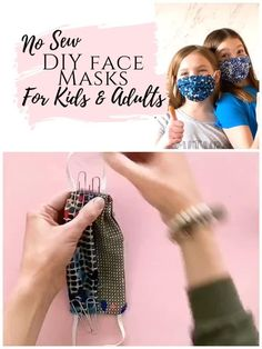 Learn how to make a medical face mask without sewing. This homemade diy mask tutorial is a no sew alternative to other online projects that come in kids and adults sizes. Free pattern and specs included! Easy Face Masks, Face Masks For Kids, Homemade Face Masks, Diy Face Mask, Kids Patterns, Sewing Patterns Free, Free Pattern, Diy Videos, Mascarilla Diy