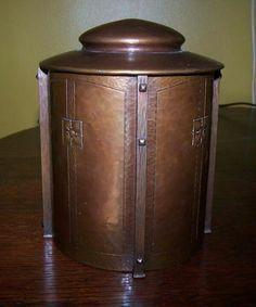 Roycroft Humidor - Karl Kipp - Arts & Crafts - Copper