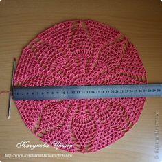 Как связать летний берет для женщин крючком (схема вязания)?