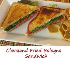 Cleveland Fried Bologna Sandwich