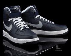 Nike Air Force 1 High 'Obsidian / Wolf Grey'
