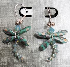 More dragon flies with dagger beads