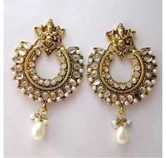 Hurry Up! Beautifull Ramleela Earrings available on Gehnewala.com @849/- with Free shipping.....  http://www.gehnewala.com/ramleela-earrings-183.html