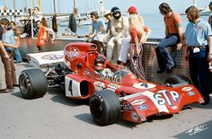 Niki Lauda at the 1972 Monaco Grand Prix, with the March-Ford 721X @ STP March Racing Team. Photo by The Cahier Archives.