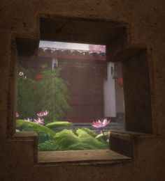 Chinese courtyard scene created in UDK. Chinese Courtyard, Chinese Garden, Lanscape Design, Courtyard Design, Courtyards, Design Ideas, Scene, Patio, Landscape