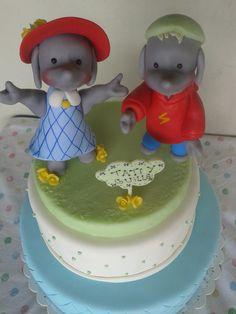Torta Ella de Disney Junior