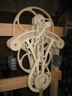 Клейтон Бойер Tocks Wooden Gear Clock, Wooden Gears, Wood Clocks, Wood Projects, Woodworking Projects, Handmade Art, Product Design, Accent Decor, Instruments