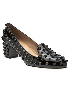 VALENTINO GARAVANI 'Rockstud' Loafer · Valentino HeelsValentino  GaravaniComfortable HeelsCinderella ShoesCute ...