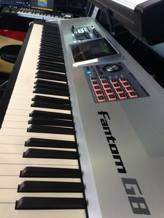 The amazing Roland Fantom G8 Workstation now reduced to £2199.00! rrp £3650. 4 left in stock at our Epsom and Glasgow stores. Also available online - http://www.guitarguitar.co.uk/keyboards/detail.asp?stock=10021816575513 #Roland #Fantom #synth #guitarguitar
