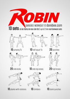 Robin Workout More