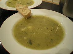 Sekundentakt: Zucchini-Reis-Suppe
