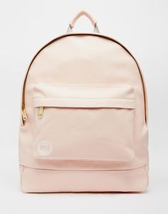 Mi-Pac Backpack in Tumbled Pastel Pink
