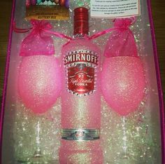 Pink Pink Drinks, Pink Stuff, Everything Pink, Pink Princess, Vodka Bottle