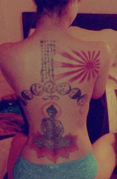 Jhene Aiko's tattoo.