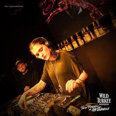 Elisa Bee DJ set for WILD TURKEY #wildturkey #entertainment #djset #party #crescenziandco #event