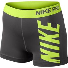 "Nike Pro Core Essential Compression Shorts 3"" (1-Pair) Spandex Yoga Tights"