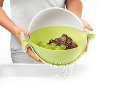 Gravity Bowl and Colander Set For Modern Kitchens: Spin
