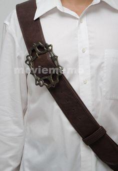 Baldric Sword Belt with Buckle