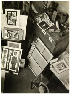 André Kertész: Leger's Studio, 1926