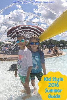Kids: Family fun at @GreatWolfLodge plus enter to WIN A TRIP and all the kid's gear your family needs from @thechildrensplace Tom and Teddy and @realkidsshades