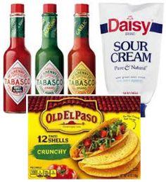 FREE Tabasco + Taco Shells & Sour Cream for $0.54 at ShopRite (Starting 4/30)
