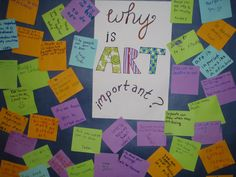 Fayston Elementary Art: Why is ART important?