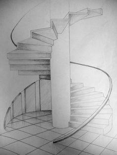 Spiral staircase by Maylich.deviantar on Spiral Staircase deviantART… Spiral staircase by Maylich.deviantar on Spiral Staircase deviantART Maylichdeviantar spiral staircase Interior Architecture Drawing, Architecture Drawing Sketchbooks, Architecture Concept Drawings, Interior Design Sketches, Architecture Design, Classical Architecture, Staircase Drawing, Spiral Staircase, Staircase Design