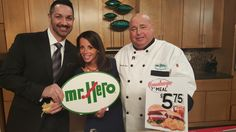 Chef Jim with Channel 3's Live on Lakeside hosts.