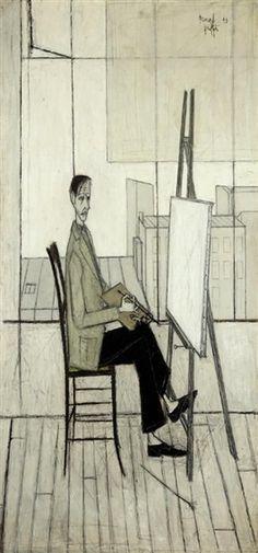 Bernard Buffet - Self Portrait, 1948