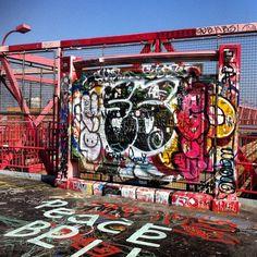 Graffiti On the Williamsburg Bridge