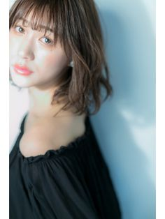 【Euphoria 渋谷】宮本 小顔シースルーミディ Style, Stylus