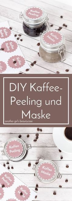 DIY coffee peeling and mask - another girl& beautycase- DIY Kaffeepeeling und -maske – another girl's beautycase DIY coffee scrub and coffee mask with free … - Diy Mask, Diy Face Mask, Diy Peel Off Face Mask, Couleur L Oreal, Diy Maquillage, Diy Beauty Makeup, Beauty Hacks, Beauty Tips, Beauty Ideas